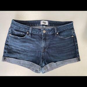 Paige  Jean shorts. 28